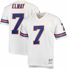 Mitchell & Ness John Elway Denver Broncos White Replica Retired Player Jersey