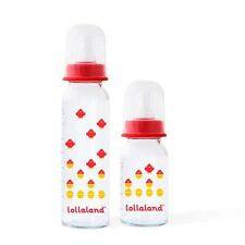 Lollaland Glass Baby Bottle - Safest Choice for Bottle-Feeding, Made in Germany