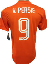 ORIGINAL 2014  NETHERLANDS HOLLAND HOME SOCCER JERSEY V. PERSIE #9 LARGE