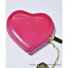 Hello Kitty Coin Wallet Case Purse Heart Makeup Mini Pouch Sanrio Japan T5107