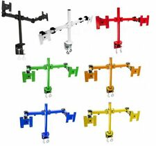 Dual Monitor Stand Mount Heavy Duty Premium Quality In 7 Different Colors