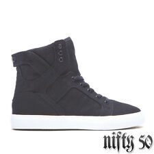 SUPRA KIDS SKYTOP HIGH TOP - BLACK/WHITE