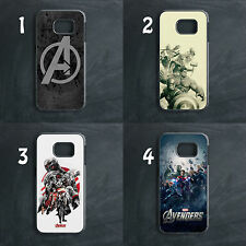 AVENGERS MARVEL COMIC SUPERHEROES IRONMAN HULK THOR PHONE CASE COVER FOR SAMSUNG