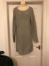 F&F Gorgeous Grey Jumper Dress Size 16 BNWT
