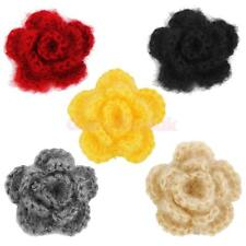 "20pcs Handmade Crochet Flowers Appliques 2"" Sewing Craft Baby Dolls DIY Assorted"