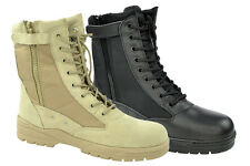NEW Army Combat Boots Patriot Boots Boots with BW Zip Combat Boots