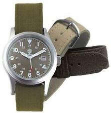 Campco Smith & Wesson Military Watch 3 Changeable Straps OD Face CC-SWW-1464-OD