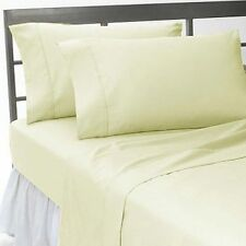 US Home Bedding Collection 1000 TC 100%Egyptian Cotton Ivory Color King Size