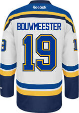 Jay Bouwmeester St. Louis Blues Reebok Premier Away Jersey NHL Replica