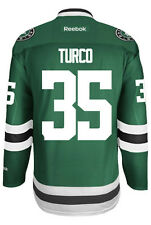 Marty Turco Dallas Stars Reebok Premier Home Jersey NHL Replica