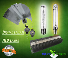 Digital Ballast 400/600/1000w HPS MH Lamp Grow Light Reflector Hydroponics Kit