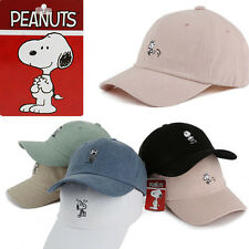 SNOOPY Friends WOODSTOCK Hats Unisex Ball Cap Outdoor Sports Embroidered PINK