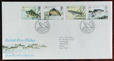 Great Britain 1983 'British River Fishes' First Day Cover (FDC) with Insert