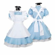 Sexy Lolita Outfits Girls Uniform Alice In Wonderland Costume Maid Fancy Dress C