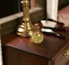 1/12 Scale Handmade Dolls House Miniature Glass Perfume Bottle And Stopper