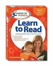 Learn to Read, Pre-K Level 1, Ages 3-4 by Hooked on Phonics