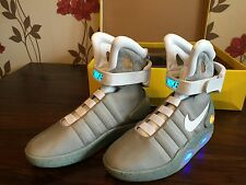 Back to the Future Marty McFly trainers with Custom Boot Strap size UK7