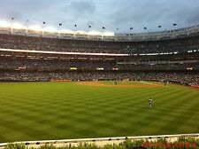 2 Baltimore Orioles New York Yankees 9/30 Tickets 3rd ROW BLEACHERS Section 236