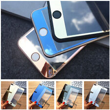 Luxury Mirror Effect Tempered Glass Screen Protector Guard For iPhone 7 & 7 Plus