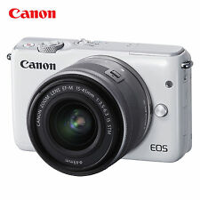 Canon Mirrorless Digital Camera EOS M10 with EF-M 15-45mm f/2 STM  Lens Kit