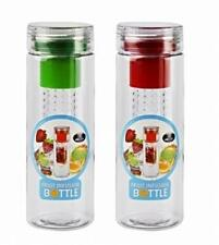 2x Fruit Infuser Water Bottle BPA Free Sport Outdoor Juice Infusion 780 ml