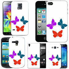 motif case cover for various Mobile phones - multi trio butterfly