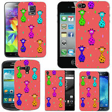 gel case cover for many mobiles - blush colourful caricature droplet silicone