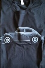 New Men's Silver Black Vintage Volkswagen VW Bug Tee T Shirt L Large Extra XL 2X
