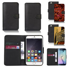 pu leather wallet case cover for apple iphone models design ref q270