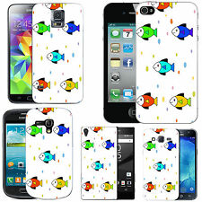 motif case cover for various Mobile phones - multi fish droplet