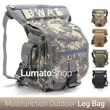 Men's Military Tactical Travel Messenger Fanny Pack Waist Thigh Drop Leg Bag