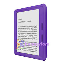 "Cool Waterproof Silicone Case for Amazon Kindle Oasis 6"" Ebook Reader Purple"