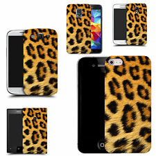 gel case cover for many mobiles  - leopard fur silicone