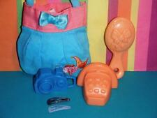 Beach Bag Telephone Hair Brush Camera fits American Girl Dolls Our Generation