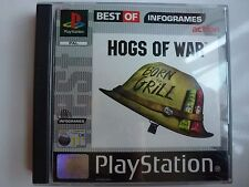 HOGS OF WAR FOR SONY PLAYSTATION 1 PS1 GAME PAL