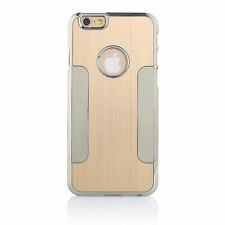 Luxury Brushed Aluminum Steel Chrome Hard Case Cover for iPhone 6s / 6s Plus