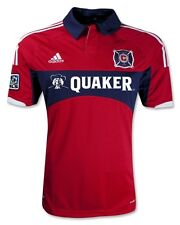 NEW ADIDAS Chicago Fire Home Soccer Jersey MLS Red MSRP $85