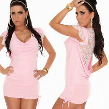 Pink Blue Womens Summer Polyester Cotton Beach Dresses Babydoll Vestidos Sexy