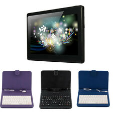 """7"""" inch A33 Google Android 4.4 Tablet PC Quad Core WiFi Bluetooth 1+ 8GB Black"""