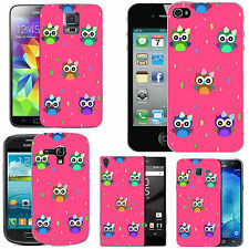 gel case cover for many mobiles -  blush colourful bow droplet silicone
