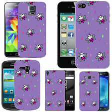 gel case cover for many mobiles - violet pink bee droplet. silicone