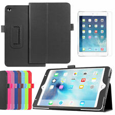 High Quality Flip PU Leather Stand Cover Case For iPad 2 3 4 5 6 7 Air Mini Pro