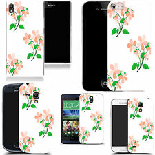 motif case cover for various Popular Mobile phones - pink leaf petal