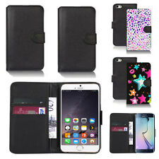 pu leather wallet case cover for many mobiles design ref q283