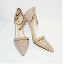 WOMAN ladies ZARA bling bling HIGH HEEL  SHOES & ANKLE STRAP SANDALS sz 35 36