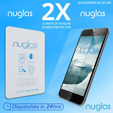 2x 100 % Genuine NUGLAS Premium Quality Tempered Glass Screen Protector iphone 7