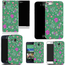 motif case cover for various Popular Mobile phones - floral culmination
