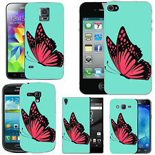motif case cover for many Mobile phones - azure caress butterfy