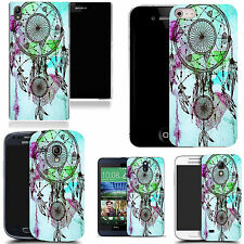art case cover for various Mobile phones - blue dreamcatcher silicone
