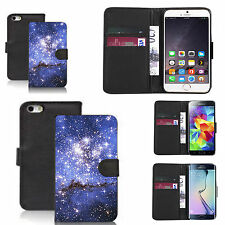 pu leather wallet case for many Mobile phones - starlet